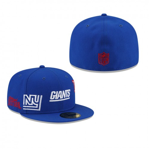 Men's New York Giants Royal Just Don 59FIFTY Fitted Hat