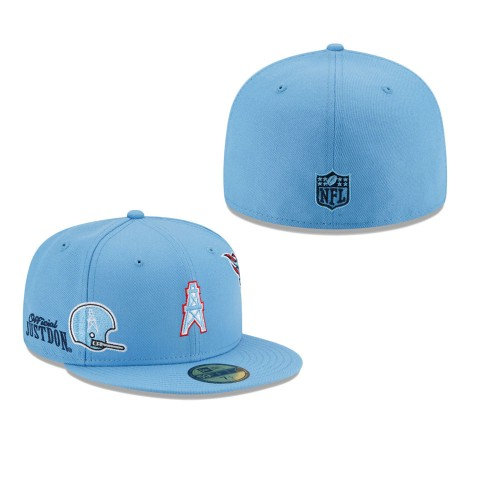 Men's Tennessee Titans Light Blue Just Don 59FIFTY Fitted Hat