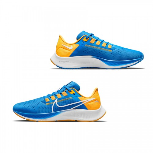 Unisex Los Angeles Chargers Nike Powder Blue Zoom Pegasus 38 Running Shoes