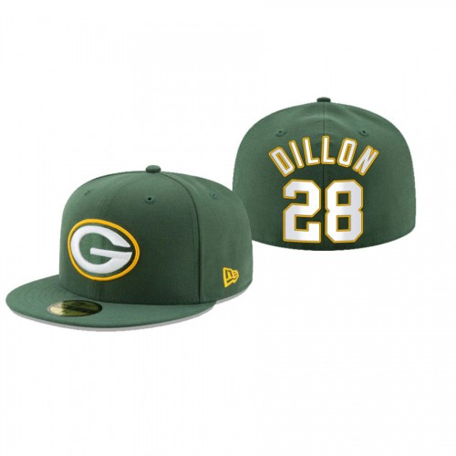 A.J. Dillon Packers Green Omaha 59FIFTY Fitted Hat