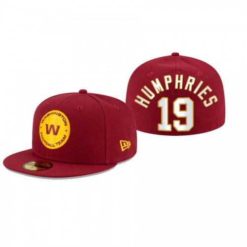 Adam Humphries Washington Football Team Red Omaha 59FIFTY Fitted Hat