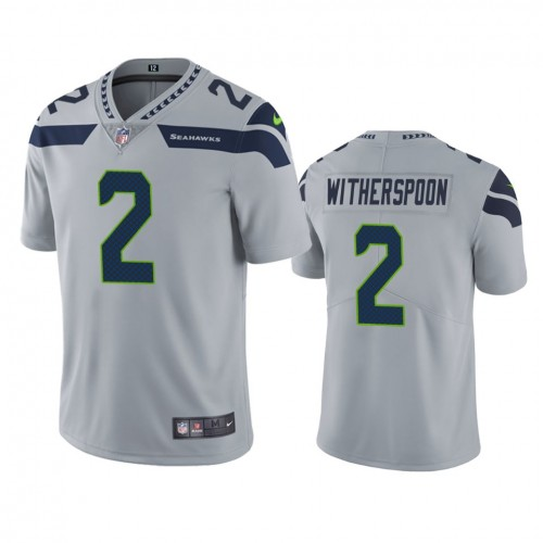 Ahkello Witherspoon Seattle Seahawks Gray Vapor Limited Jersey