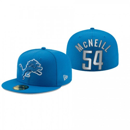 Alim McNeill Lions Blue Omaha 59FIFTY Fitted Hat