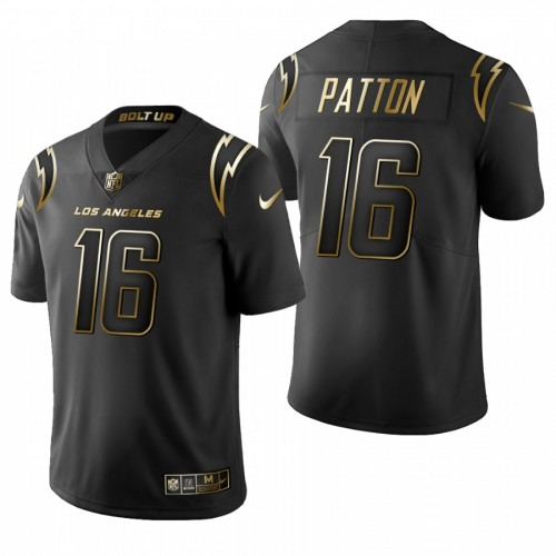 Andre Patton Los Angeles Chargers 2020 Golden Limited Jersey - Black
