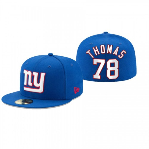 Andrew Thomas Giants Royal Omaha 59FIFTY Fitted Hat