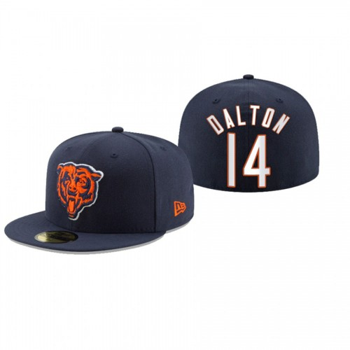 Andy Dalton Bears Navy Omaha 59FIFTY Fitted Hat