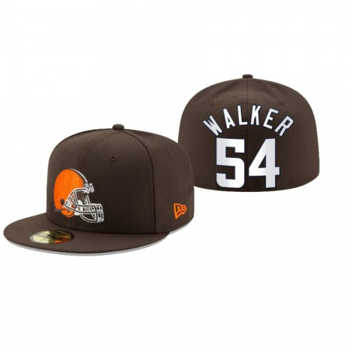 Anthony Walker Browns Brown Omaha 59FIFTY Fitted Hat