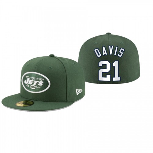 Ashtyn Davis Jets Green Omaha 59FIFTY Fitted Hat