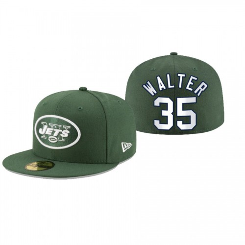 Austin Walter Jets Green Omaha 59FIFTY Fitted Hat
