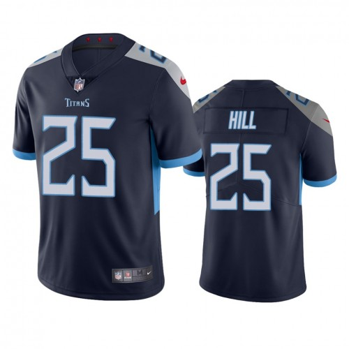 Brian Hill Tennessee Titans Navy Vapor Limited Jersey