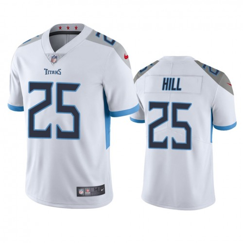 Brian Hill Tennessee Titans White Vapor Limited Jersey