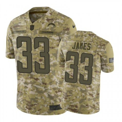 2018 Salute to Service Derwin James Camo Jersey Chargers