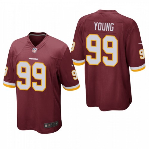 Chase Young #99 Redskins Burgundy 2020 NFL Draft Alternate Game Jersey