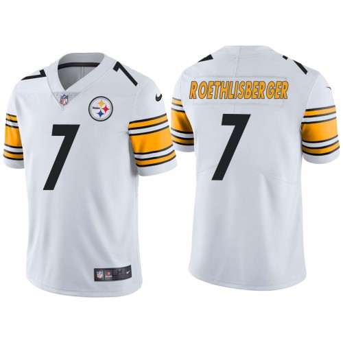 Ben Roethlisberger Pittsburgh Steelers Vapor Untouchable Limited Jersey White