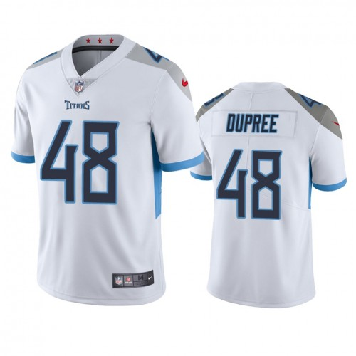 Bud Dupree Tennessee Titans White Vapor Limited Jersey